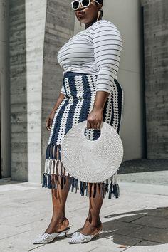 Crochet Stripes in the Miami Design District Fashion Styles, Fashion Ideas, Zero Size, Yes To The Dress, Mode Inspiration, African Fashion, Diaries, Plus Size Fashion, Black Women