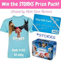 Enter to Win the STORKS Prize Pack - incl $50 Visa GC!! (ends 9/20)