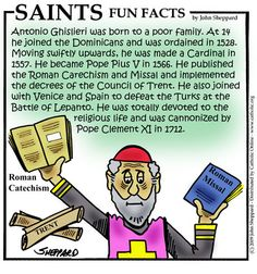 Saints Fun Facts for St. Pius V