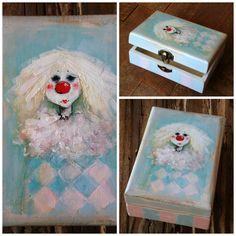 Decorative Boxes, Painting, Home Decor, Art, People, Creative, Art Background, Decoration Home, Room Decor