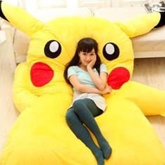 Giant Pikachu Bed