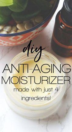 Anti Aging Creme, Creme Anti Age, Best Anti Aging, Anti Aging Skin Care, Natural Skin Care, Natural Beauty, Aging Cream, Homemade Face Moisturizer, Anti Aging Moisturizer