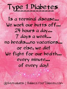 Type 1 Diabetes...A fight for health!  And sometimes it kills anyway.