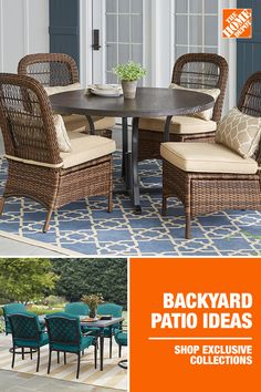 Put your patio in the hands of a brand that's tried and true with top-rated pieces from collections like Laguna Point, Beacon Park and Harper Creek, all available at The Home Depot. Get a set to sit poolside or a table and chairs for that quiet corner of your garden. Then, personalize your set with the fabric of your choice from our Create Your Own Collection program. Shop now at The Home Depot.