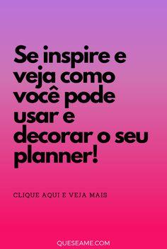 Meu Planner em Janeiro Fotos Do Instagram, Planner, Have Faith, January, Day Planners