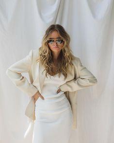 Urban Fashion Trends, Spring Fashion Trends, Latest Fashion For Women, Womens Fashion, Winter Fashion, Minimal Outfit, Minimal Fashion, Minimal Style, Off White Blazer