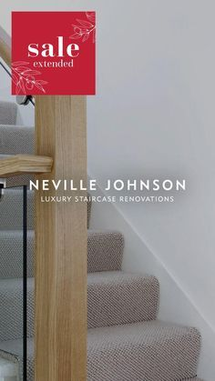 Sale Extended! Bespoke staircase renovations, designed by experts. Installed in 1-2 days with no mess, no fuss and no building work. Luxury Staircase, Bespoke Staircases, Loft Staircase, Stair Banister, Banisters, Staircase Design, Stairs, 3d Living Room, Living Room Designs
