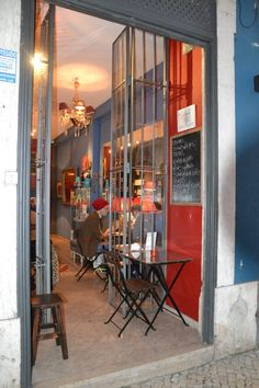 «Arte e Vinhos» a wine bar where you can find art. You can buy any peace of furniture and you also find second hand clothes. In Principe Real. Very cosy spot, one of my favorites.