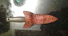 Dagger sheath by Beauvine Leather