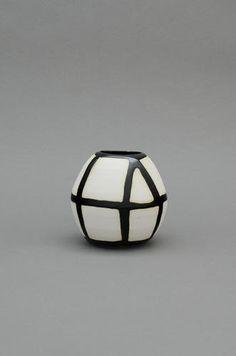 Shio Kusaka Grid 56, 2013 Porcelain 4 3/4 x 5 x 5 inches Courtesy Anton Kern Gallery, New York