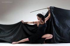 Fotograaf : Erik Bolding Model: Maria Vriens #Samurai