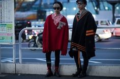 The Street Style From Tokyo Fashion Week SS17 Is Next Level