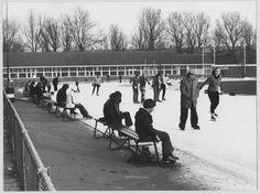 Stadspark kunstijsbaan 1975