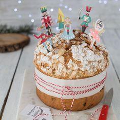 Panettone sciuè sciuè | Chiarapassion Cake & Co, Menu, Nutcracker Christmas, Croissant, Biscotti, Baking Recipes, Banana Bread, Food And Drink, Birthday Cake