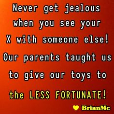 """""""Never Get Jealous"""", #Quote #sayings #jealousy"""