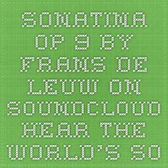 Sonatina Op 9 for Guitar