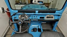 toyota fj40 dashboard / interior