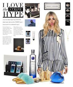 """Do not disturb"" by diamondsaremygoals ❤ liked on Polyvore featuring Morgan Lane, Drakes London, Yves Saint Laurent, Moon Juice, Gucci, MAC Cosmetics, Natalie B and pyjamas"