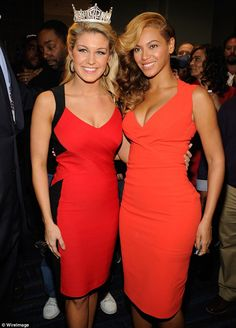 Beauties: Miss America Mallory Hagen & Beyonce