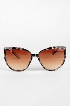 5c676d9e2fae1 Mr. Brightside Sunglasses in Pearl  9 at www.tobi.com Cool Sunglasses,