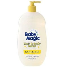 Shampoos and Soaps 82563: Baby Magic Gentle Hair - Body Wash, Soft Powder Scent 30 Oz (Pack Of 6) -> BUY IT NOW ONLY: $65.5 on eBay!