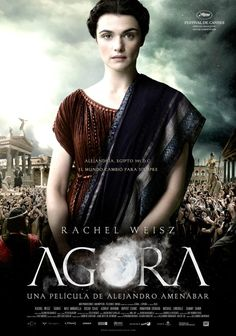 Ipazia, the first woman philosopher. Great movie.
