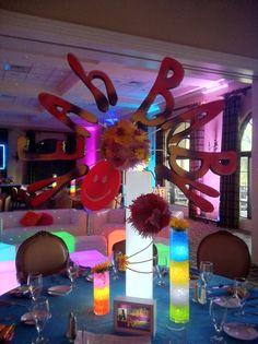 Austin Powers / Groovy Theme Bar Mitzvah Event Decor Party Perfect Boca Raton…