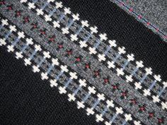 Handwoven Wool Rug  Nordic Night Sky  Flat by LokenLoomWeaving, $425.00