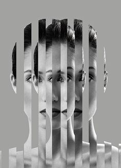 As races intermingle, mixed bloodlines are blurring cultural boundaries and hybridness has a whole new meaning in the century Self Portrait Photography, Surrealism Photography, Conceptual Photography, Photography Editing, Creative Photography, Amazing Photography, Art Photography, Collage Portrait, Collage Art