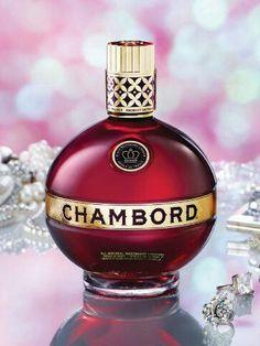 Oooh - I love this stuff Chambord Liqueur, Happy Hour, Perfume Bottles, Alcohol, Rubbing Alcohol, Perfume Bottle, Liquor
