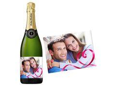 Pour la Saint-Valentin, du champagne personnalisé livré en 48h sur http://www.monvinpersonnalise.fr !