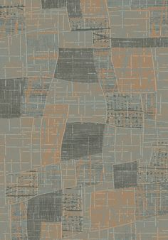 Opus Grey/Beige Geometric Area Rug