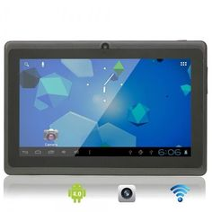 Capacitive Touch Screen Android Tablet PC with Camera Wifi TF Black March 2014 Online Music Stores, Android 4, Digital Camera, Wifi, Smartphone, Coding, Electronics, Touch, Ebay