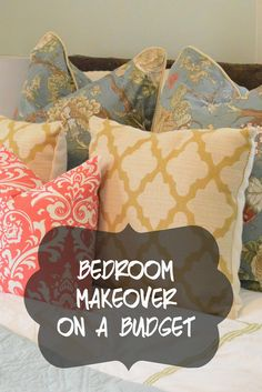 Bedroom Makeover on a Budget via Sylvan Park Life