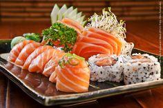 Nakombi - Vl. Olímpia (jantar)    Kombinado de Salmão  Sushis e sashimis  (11 unidades)
