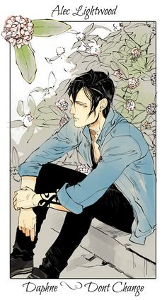Alec Lightwood - Daphne (Don't Change): Cassandra Jean: Shadowhunter Flowers Series: *Character belongs to Author Cassandra Clare and her Mortal Instrument series Cassandra Jean, Cassandra Clare Books, Alec Lightwood, Mortal Instruments Books, Shadowhunters The Mortal Instruments, The Mortal Instruments Tumblr, Mortal Instruments Wallpaper, Shadowhunters Series, The Infernal Devices