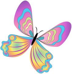 Painted_Butterfly_PNG_Clipart.png (798×813)