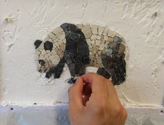 Wonderful mosaic by AneMe | Andrea Poma and Melissa Moliterno