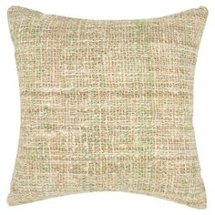 Add a stylish touch to your living room or den with this upcycled silk pillow, showcasing a tweed design.  Product: Set of 2 pil...