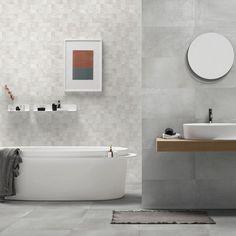 Sedano Blanco Porcelain Tiles Porcelain Tiles, Bathtub, Bathroom, Standing Bath, Washroom, Bathtubs, Bath Tube, Full Bath, Bath