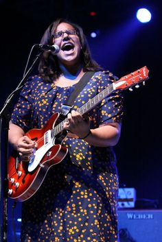 Brittany Howard & Co. of Alabama Shakes perform for fans at the Masquerade.