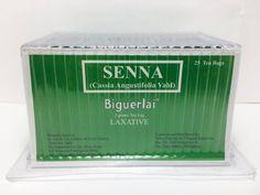 BIGUERLAI SENNA TEA  WEIGHT LOSS DIET SLIMMING FAT BURNER SLIM FIT 25 tea bags #BiguerlaiSlimmingTea