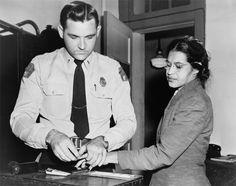 Rosa Parks.  Civil Rights Movement.