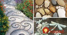 Stepping Stones, Gardening, Outdoor Decor, Diy, Home Decor, Homemade Home Decor, Bricolage, Garten, Lawn And Garden