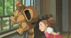 Mei and the Baby Cat Bus - haven't seen this one, but if it is anything like 'My Neighbor Totoro', I want to!!