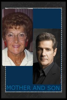 Glenn & his mother Nellie Marie  Nellie  (12-25-1925 to 9-9-2013) 87 Glenn (11-6-1948 to 1-18-2016) 67