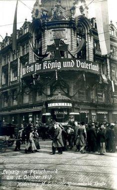 Leipzig: Historische Ansichten und Vergleiche - Seite 2 - Deutsches Architektur-Forum Dresden Germany, First World, Places To Travel, The Past, Old Things, Street View, Germany, Black And White, Cities