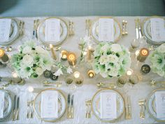 Table set up idea