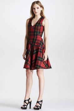 Shop plaid shirts, skirts and even shoes for fall 2013