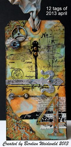 Scrap from Bemmel: Tim Holtz '12 tags of April 2013 ""